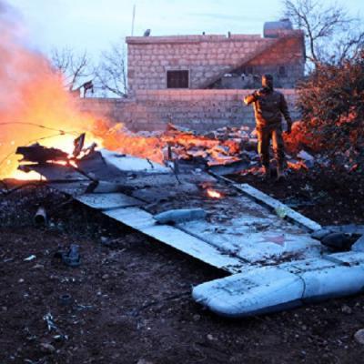 Размещены кадры сражения пилота Су-25 сбоевиками вСирии