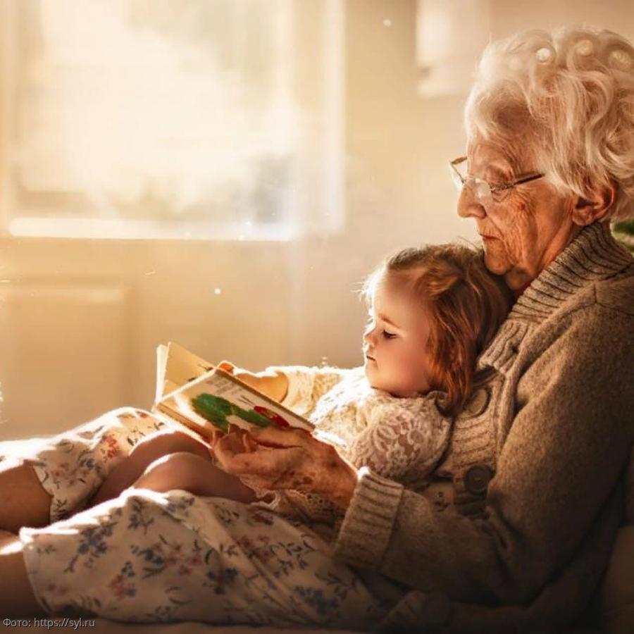 Фото и открытки внуков с бабушкой, днем рождения картинках