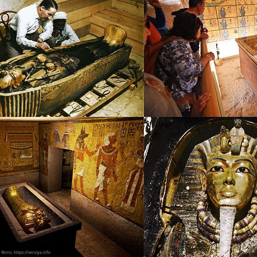 склеп фараона фото