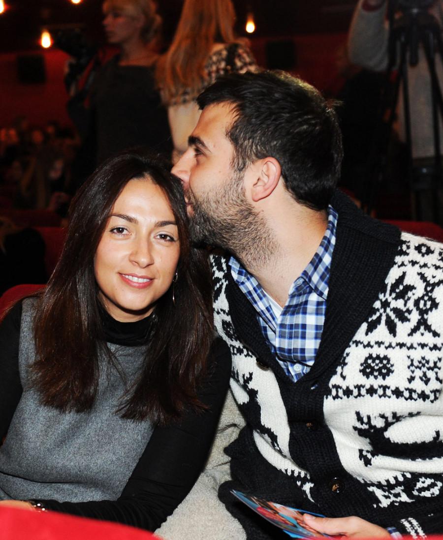 иван ургант с женой свадьба фото праздник весны единства