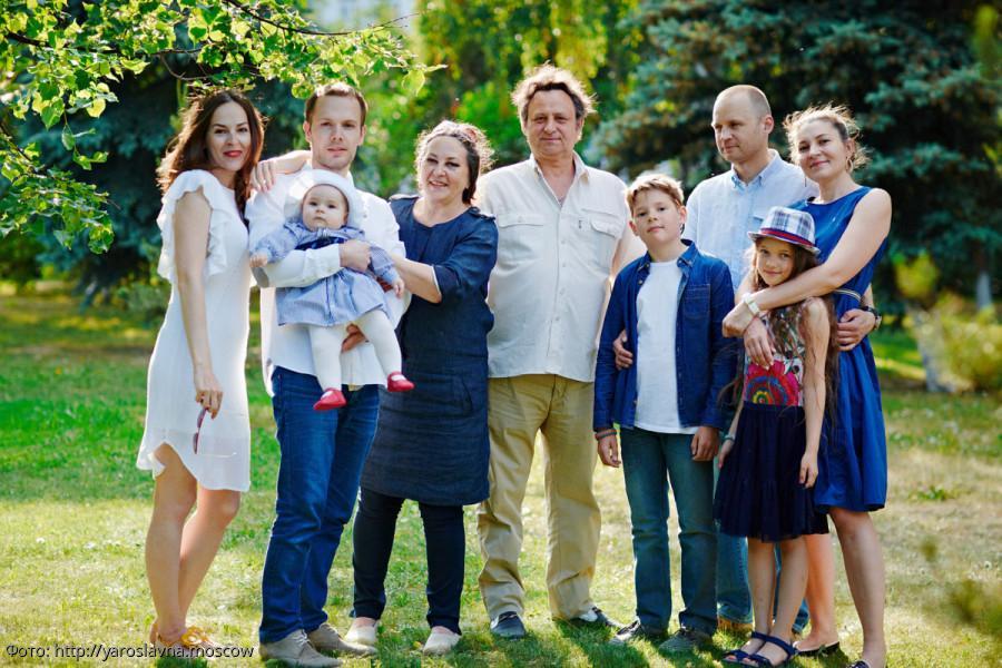 фото большой семьи с детьми