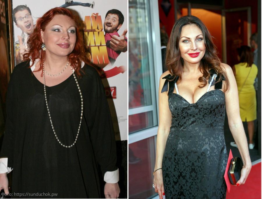 Известная Актриса Похудела. Российские знаменитости, сказавшие «прощай» лишнему весу
