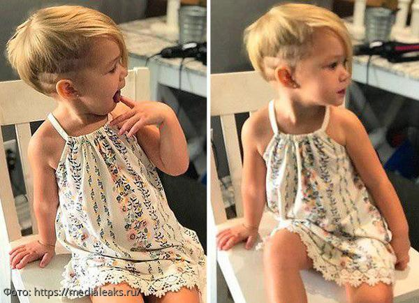 Картинки по запросу Трехлетний малыш решил постричь свою младшую сестренку…