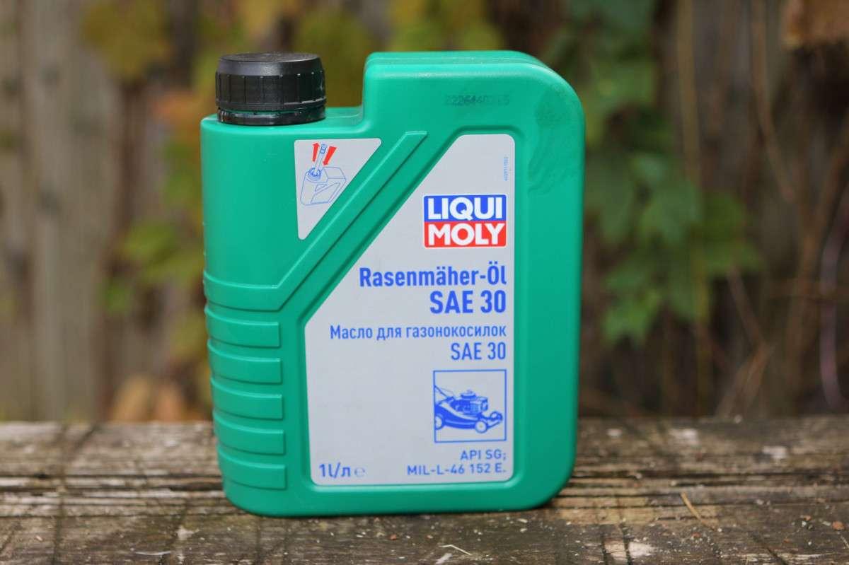 масло ликви моли для газонокосилок