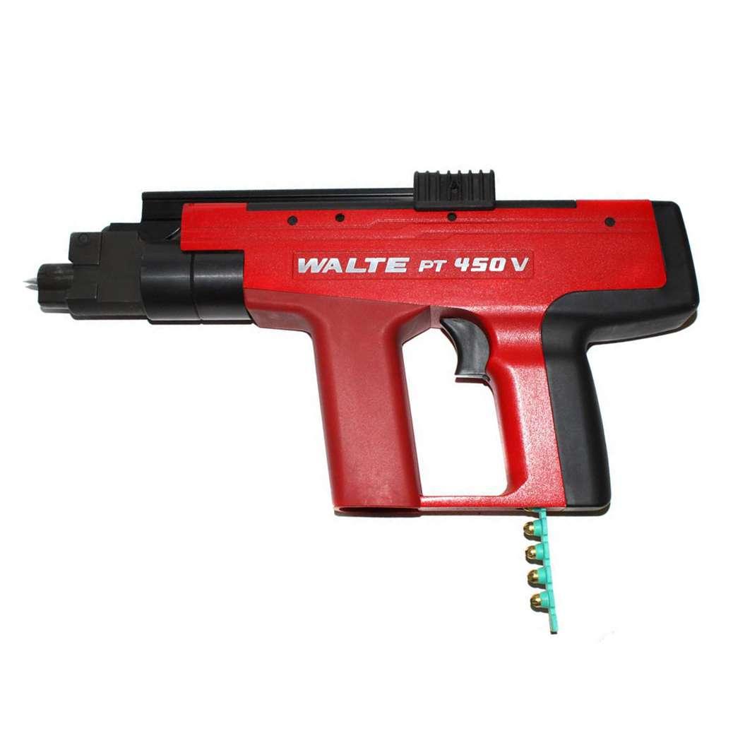Пороховой монтажный пистолет