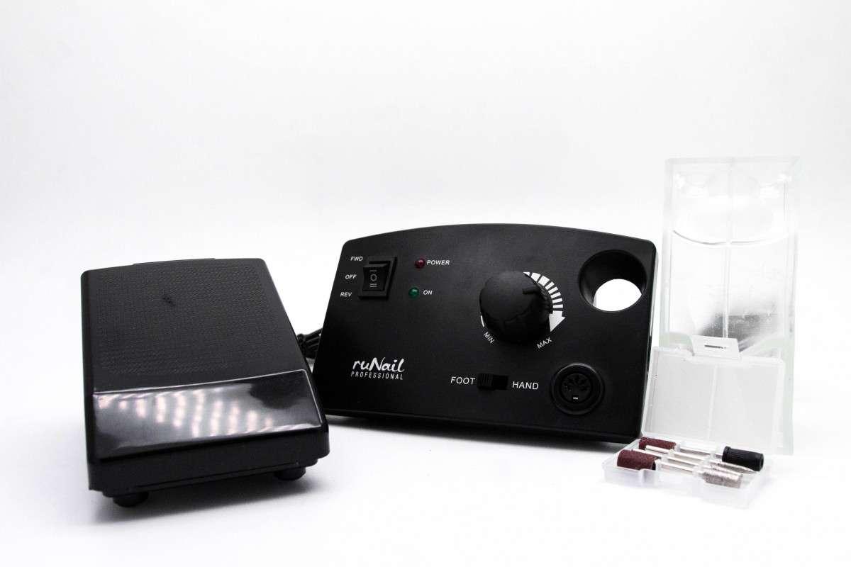 Аппарат Runail Professional PM-35000, 35000 об/мин, черный