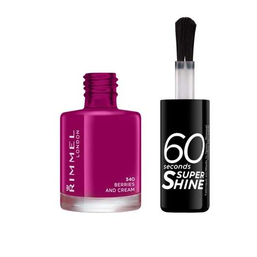 Лак Rimmel 60 Seconds Super Shine, 8 мл