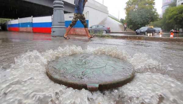 В российской столице вближайшие часы выпадет треть нормы осадков июня